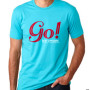 This logo shirt features the classic Go! Ice Cream logo.
